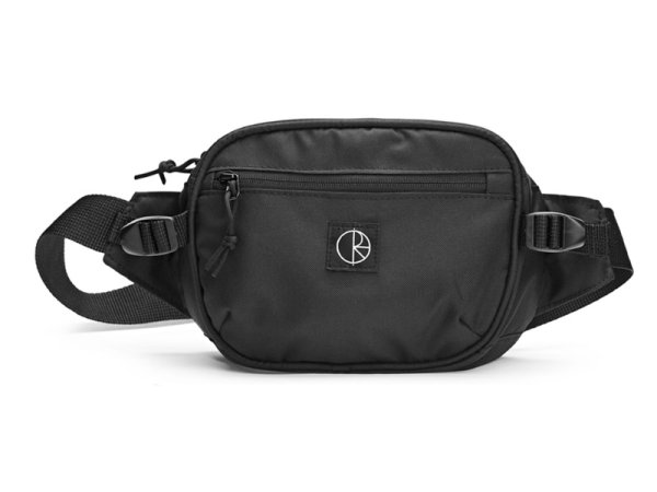 画像1: POLAR SKATE CO. CORDURA  HIP BAG  Black (1)