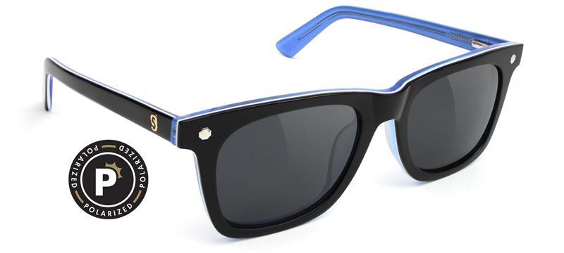 glassy sunhaters  MIKEMO HIGHROLLER   BLACK WHITE BLUE