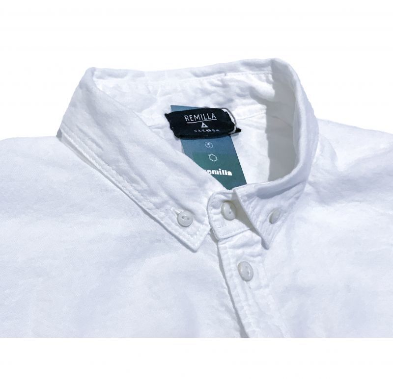 remilla オックスポートシャツ  ホワイト