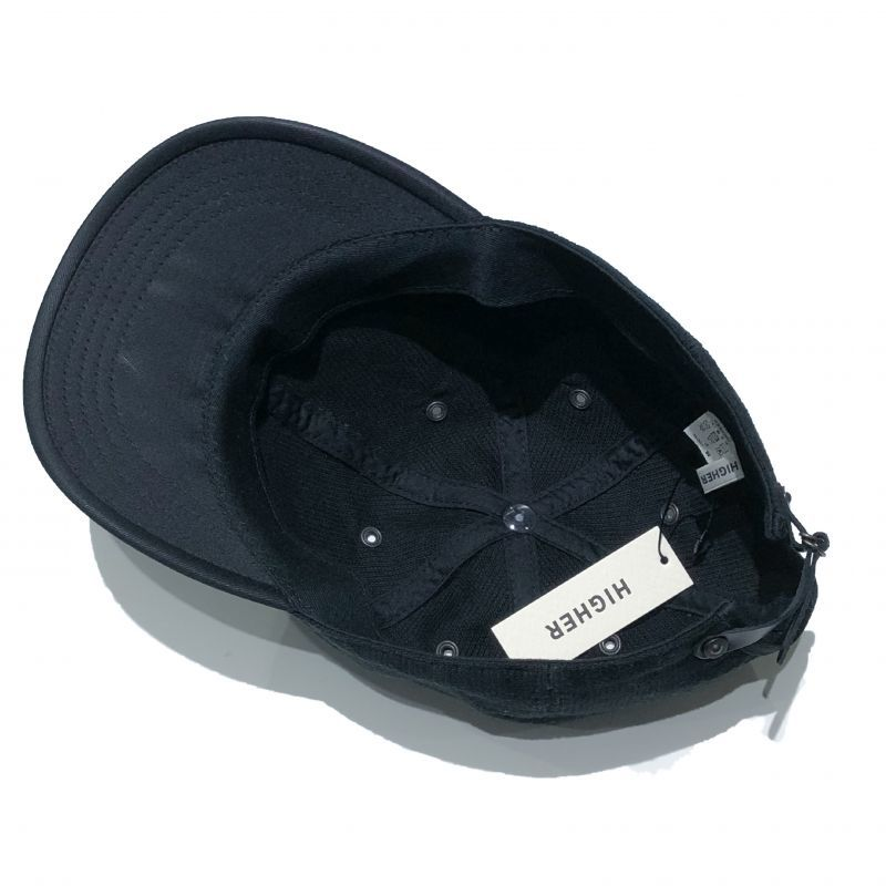 HIGHER (ハイアー) のデッキピケ シャロー CAP カラーはブラック