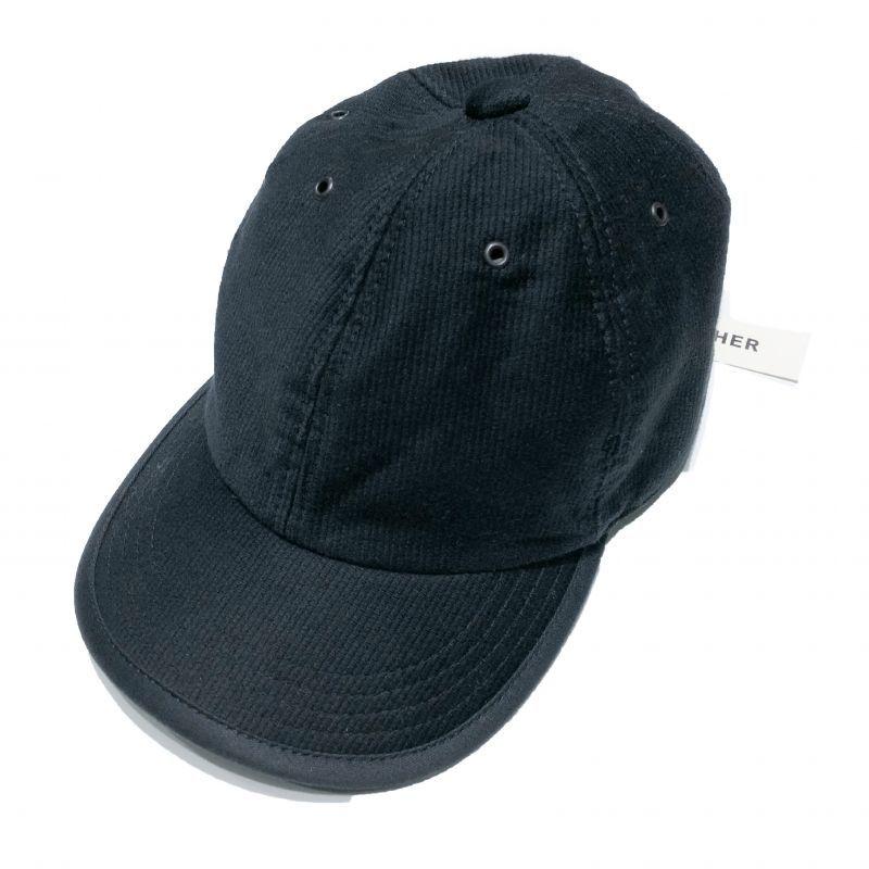 HIGHER (ハイアー)のデッキピケ シャロー CAP 色はブラック