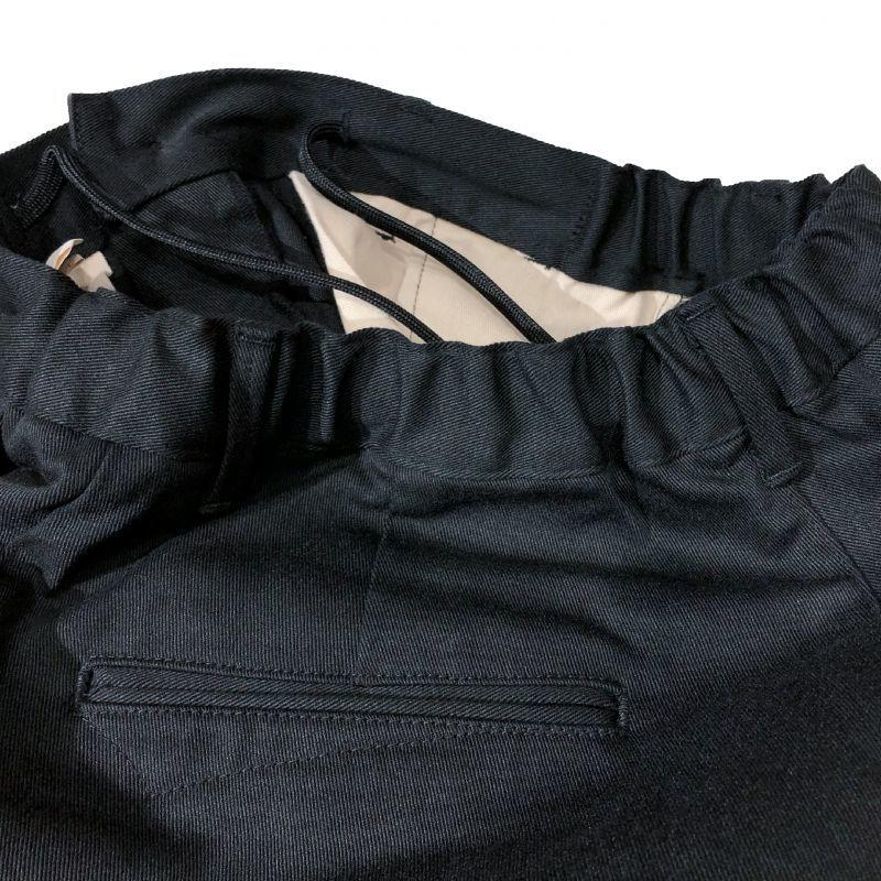 KAFIKAのTWILL LOUNGE TROUSERS  ブラック