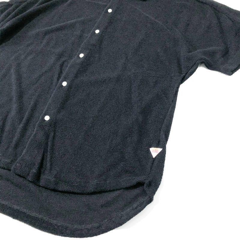 メイプル CAパイル カカアコドルマンシャツ ブラック