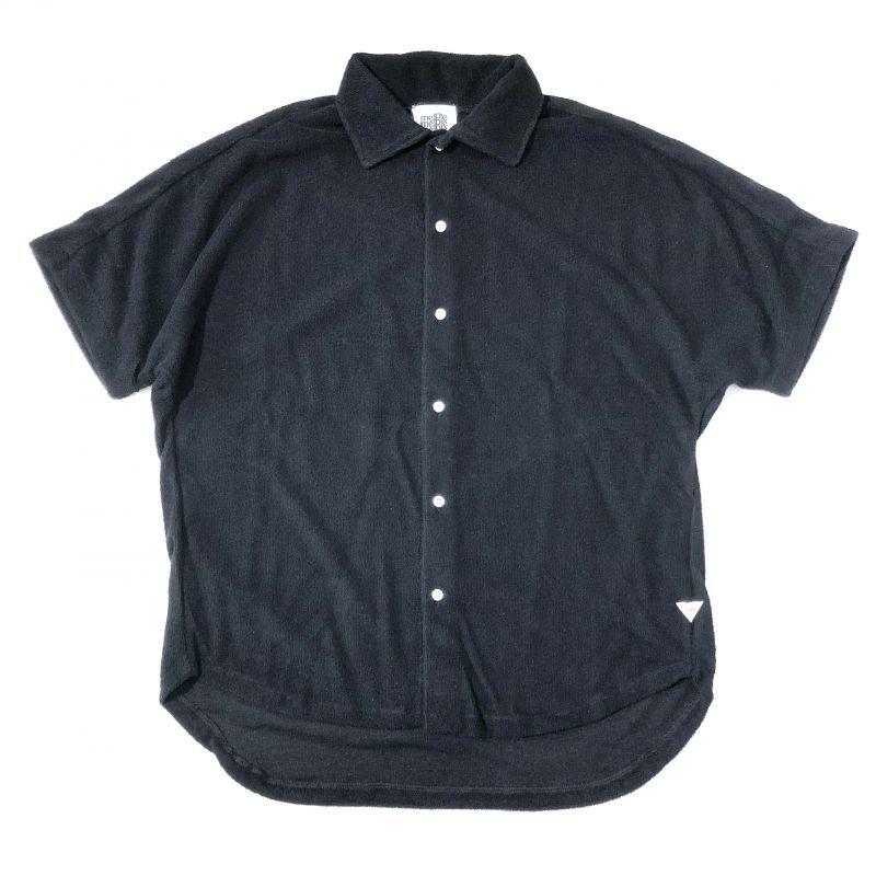 melple CAパイル カカアコドルマンシャツ ブラック