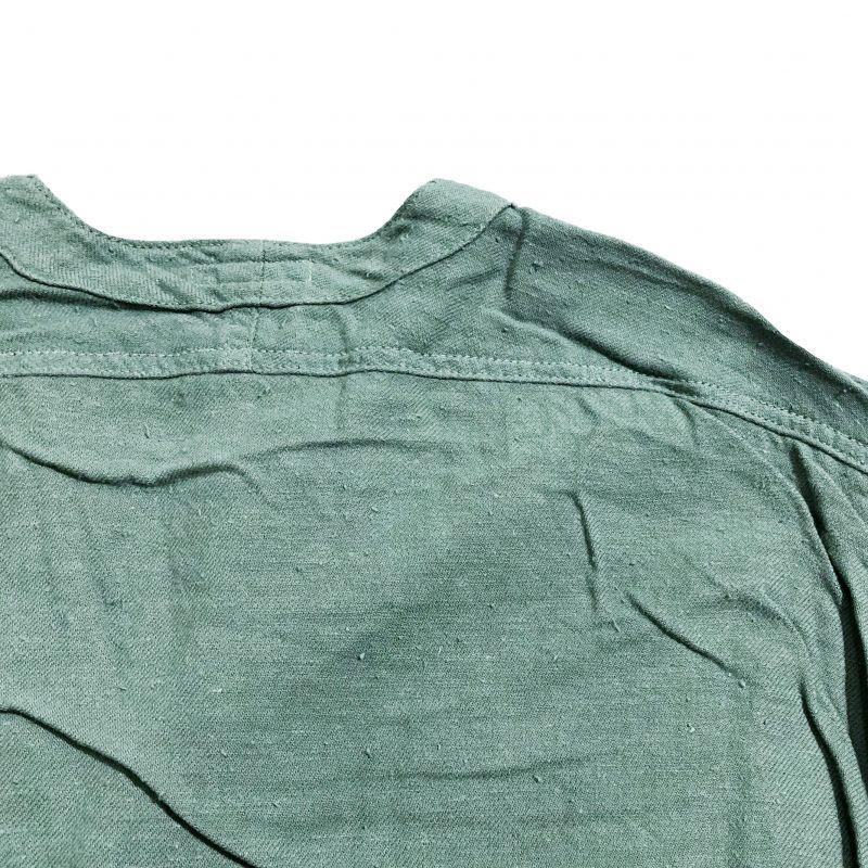 レミーラのテンビン羽織り グレイグリーン
