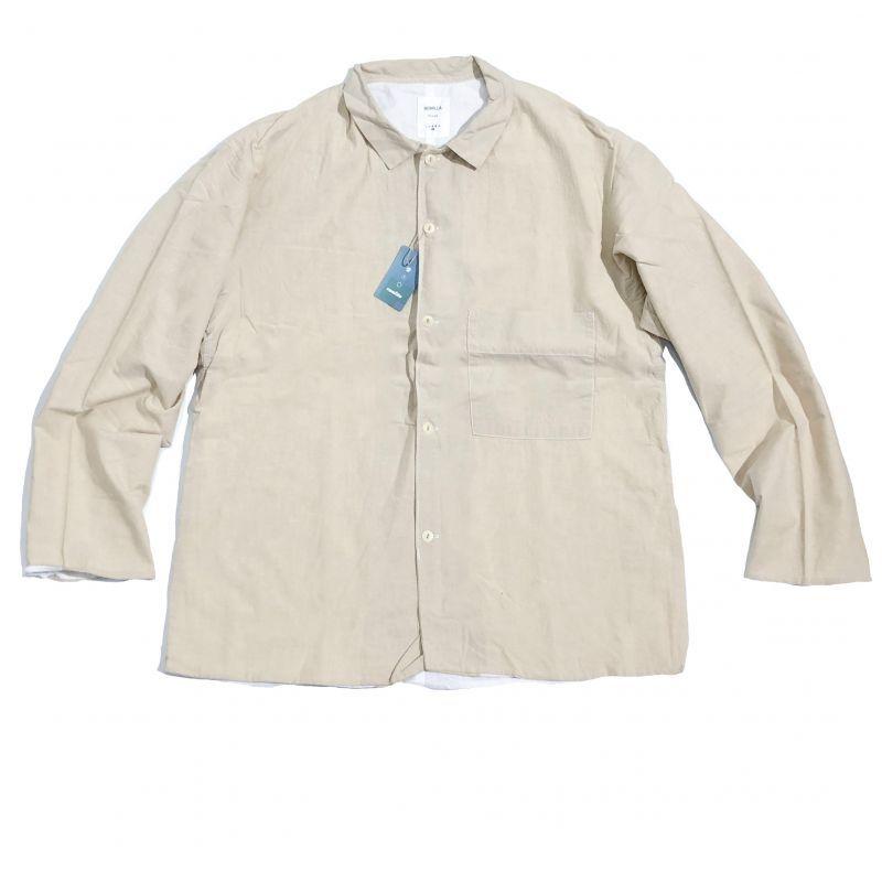 remilla  Lawn chambray Shirt  ライトサンド