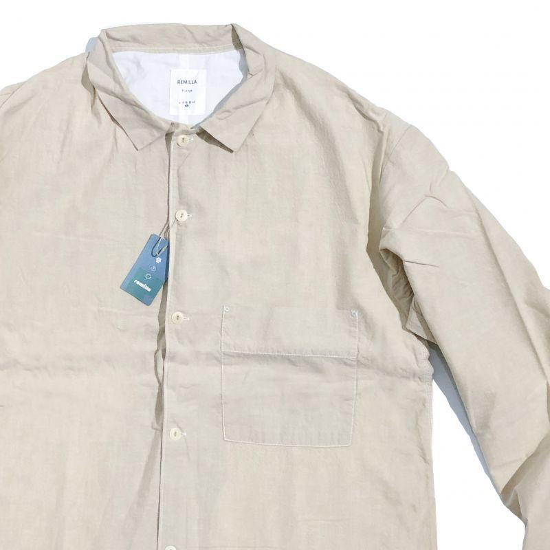 レミーラのLawn chambray Shirt  ライトサンド