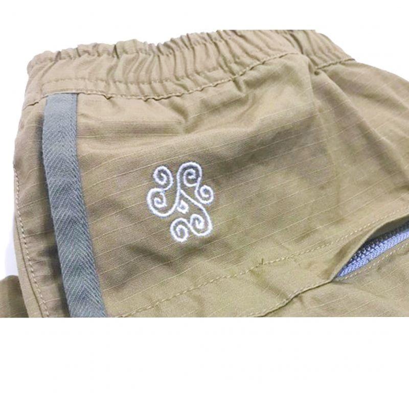 レミーラのRip Boat Zip Pants サンド