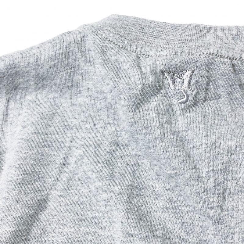 シュガーグライダーの ITTL PAINTER Tシャツ グレイ