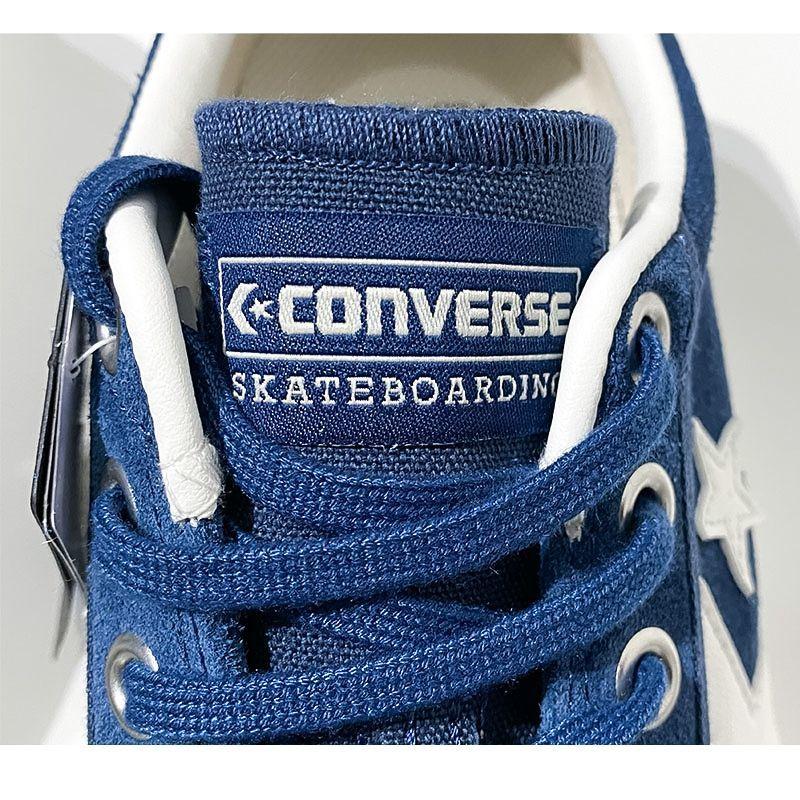 コンバーススケートボーディングの+ SERIES (プラスシリーズ)種類はBREAKSTAR SK OX + 色はDEEP BLUE(ディープブルー)
