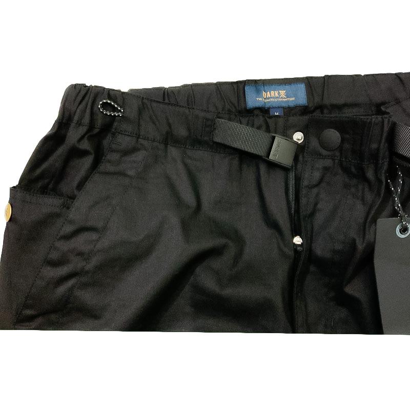 ROARK REVIVALのRIPSTOP ST NEW SIX POCKET PANTS  色はブラック