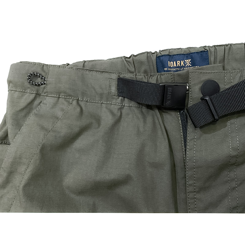 ROARK REVIVALのRIPSTOP ST NEW SIX POCKET PANTS  色はアーミー