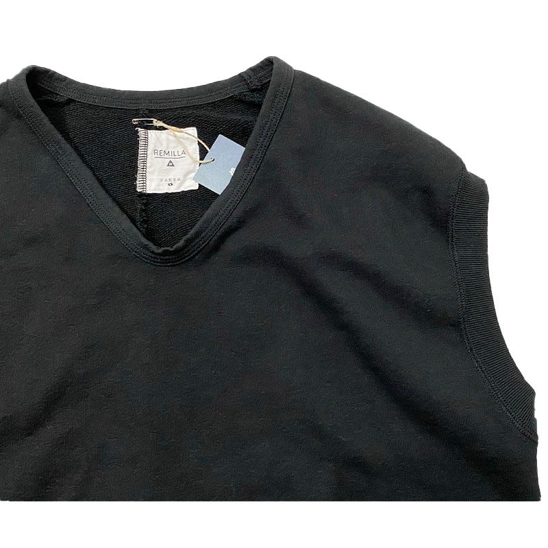 remilla (レミーラ) ナッツベスト  色はブラック