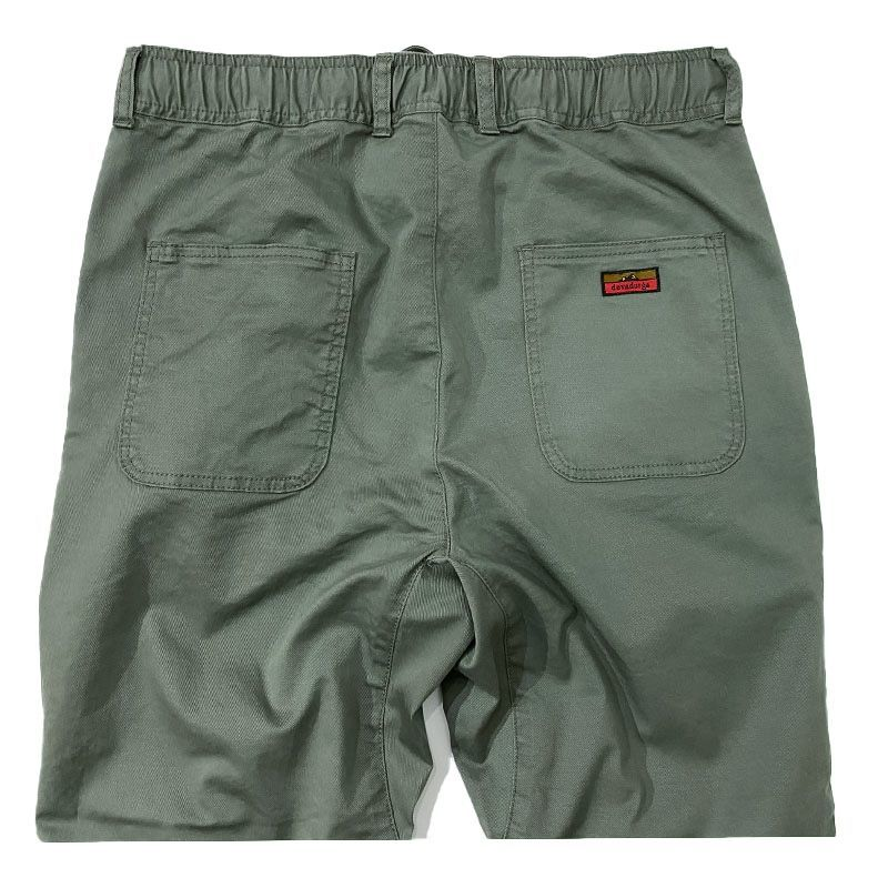 Devadurga (デバドゥルガ)   CRAFTMAN TWILL PANTS  カラーはカーキ