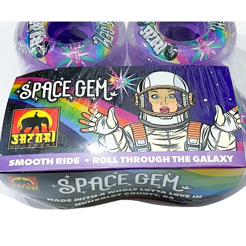 SATORI   SOFT WHEEL  SPACE GEM  54mm 78A