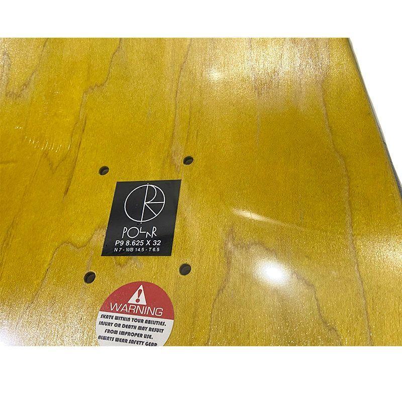 POLAR PAUL GRUND  NOTRE DAME P9  8.625 スケートデッキ