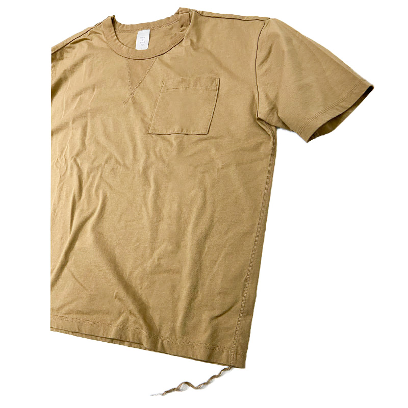 Have a good dayのBASIC NA S/S LOOSE TEE  モカ