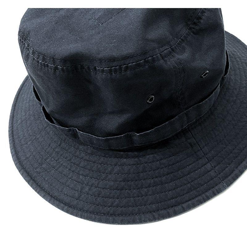 HIGHER のVENTILE FIELD  HAT  ブラック