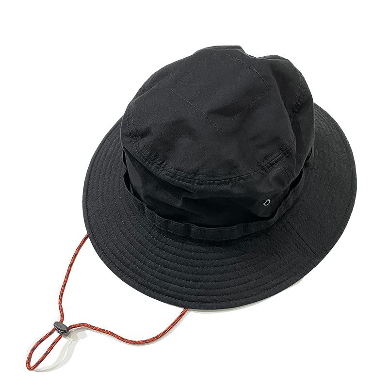 HIGHER (ハイアー)   VENTILE FIELD  HAT  ブラック