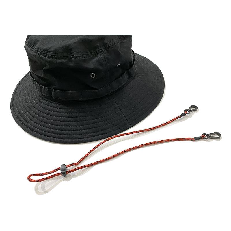 HIGHER ベンタイル  HAT  ブラック