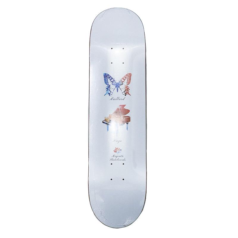 Magenta (マジェンタ)  BUTTERFLY   HUGO MAILLARD  7.875  スケートデッキ