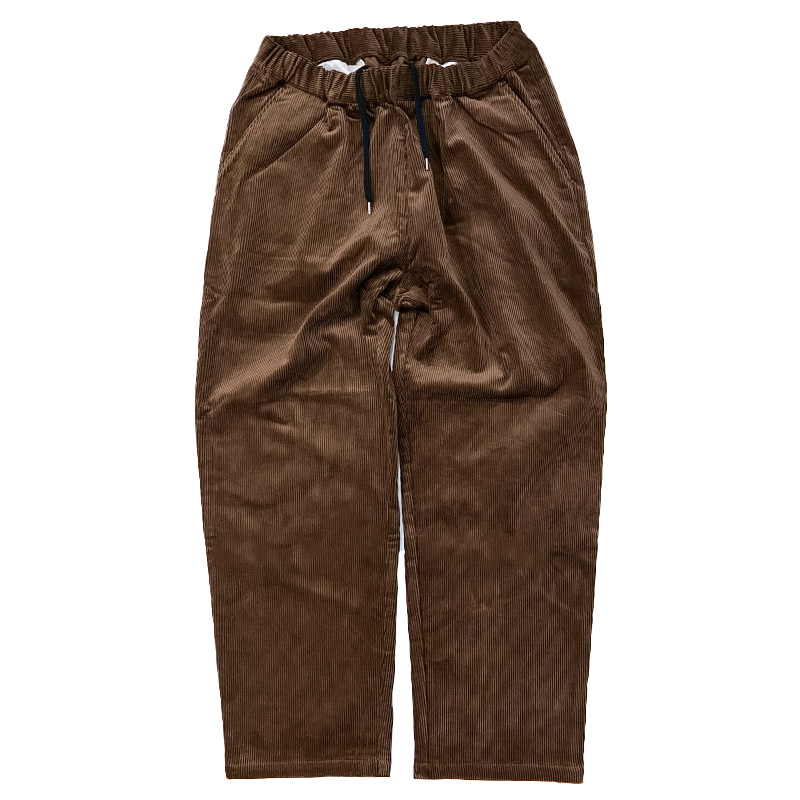 Have a good day  (ハブアグッドデイ)   RELAX TROUSER  CORD PANTS  ブラウン
