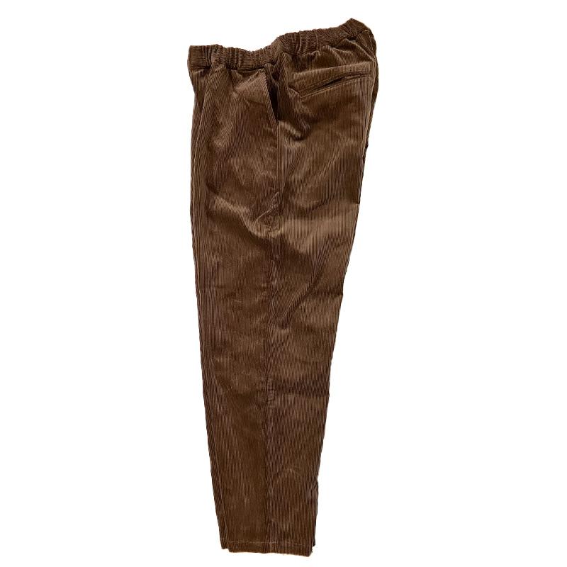 ハブアグッドデイのRELAX TROUSER  CORD PANTS  ブラウン